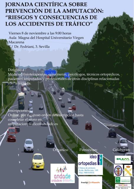 Sevilla acoge jornada de prevención de amputaciones en accidentes de tráfico